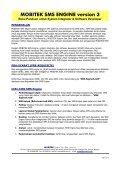 MOBITEK SMS ENGINE version 3 - MOBITEK System - Page 2
