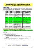 MOBITEK SMS ENGINE version 3 - MOBITEK System - Page 6
