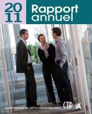Télécharger le rapport annuel 2012 du CTIP et des institutions de ...