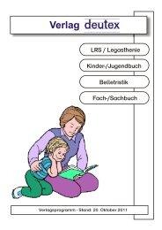 Verlagsprogramm - Verlag deutex