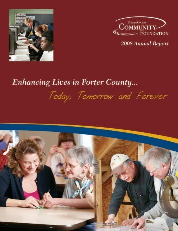 continued from page 5 - Porter County Community Foundation