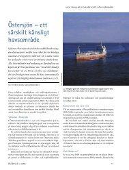 Östersjön – ett särskilt känsligt havsområde - Havet.nu