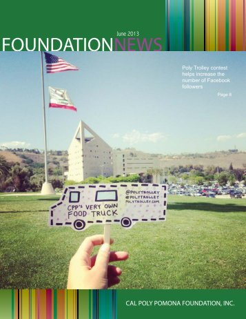 JUNE PDF Issue - Cal Poly Pomona Foundation