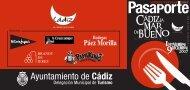 Pasaporte para participar - Ayuntamiento de Cádiz