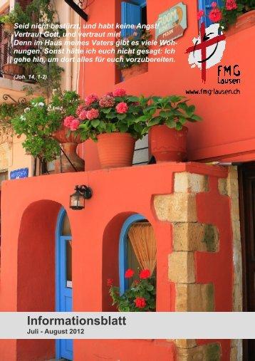 Ausgabe Juli / August 2012 - FMG Lausen