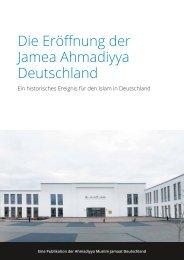 Die Eröffnung der Jamea Ahmadiyya Deutschland
