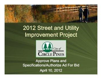 04 10 12 Street Plans.pdf - Circle Pines, Minnesota