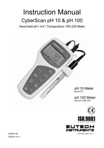 phtestr 30 instruction manual