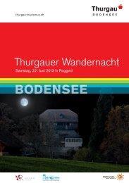 BODENSEE - Schweizer Wandernacht