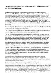 Stellungnahme des HGON Arbeitskreises Limburg ... - BI-Knoten