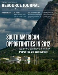 International Resource Journal - February 2012 - ADX Energy