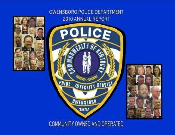 Owensboro Police Department Annual Report 1 - City of Owensboro