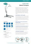 INVACARE PATIENT LIFTERS - GTK Rehab - Page 3