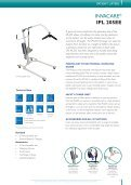 INVACARE PATIENT LIFTERS - GTK Rehab - Page 5