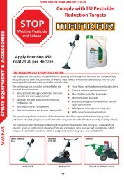 Comply with EU Pesticide Reduction Targets - Pitchcare