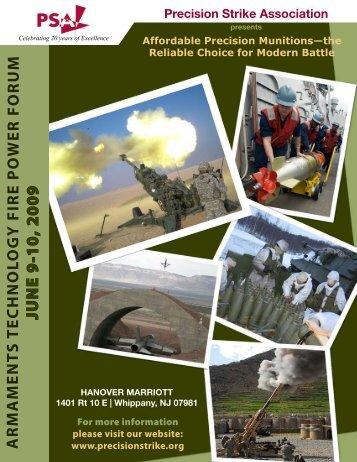 Download a complete brochure - Precision Strike Association