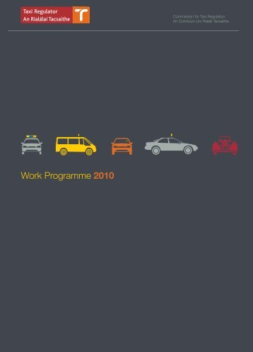 Work Programme 2010 - National Transport Authority