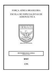 meteorologia geral - Redemet - Força Aérea Brasileira