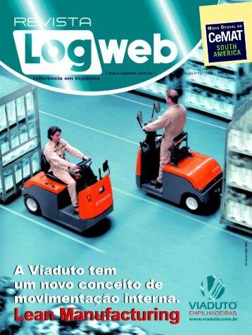 referência em logística - Logweb