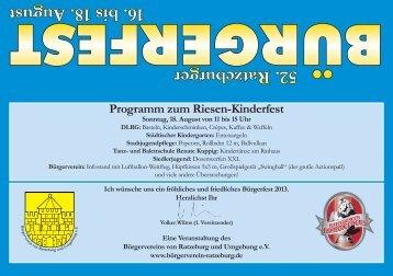 52. Ratzeburger 16. bis 18. August - Herzogtum direkt