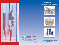 New! Harmsco Tri-Fold Brochure