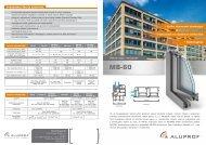 Ablak-ajtó rendszer MB-60 (pdf)