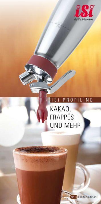 "iSi Profiline Rezeptheft ""Kakao, Frappés und mehr"" - Ilggro GmbH"