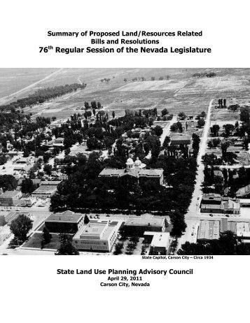 76 Regular Session of the Nevada Legislature - Nevada Division of ...