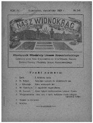 ` Miesięcznik Młodzieży Liceum Krzemienieckiegq - PTTK