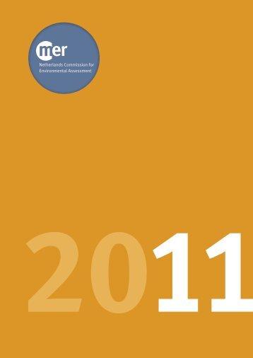 Annual report 2011 - Commissie voor de milieueffectrapportage