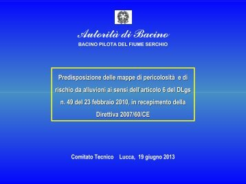 Download PDF - Autorità di Bacino del fiume Serchio