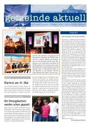 Mai 2009 - Kirche des Nazareners Hanau