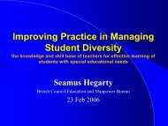 Effective teaching and promoting inclusive education - Education UK