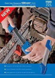 Chain Saw Sharpener ® CS-X - PFERD