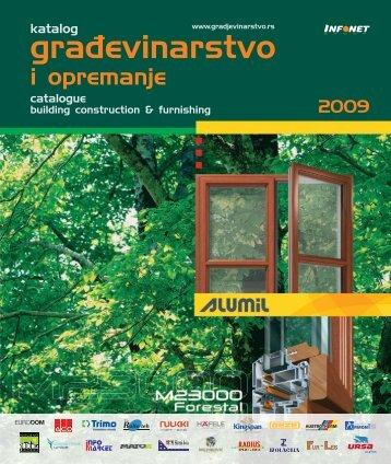 izbor iz kataloga Građevinarstvo 2009 *.pdf - Infonet Group