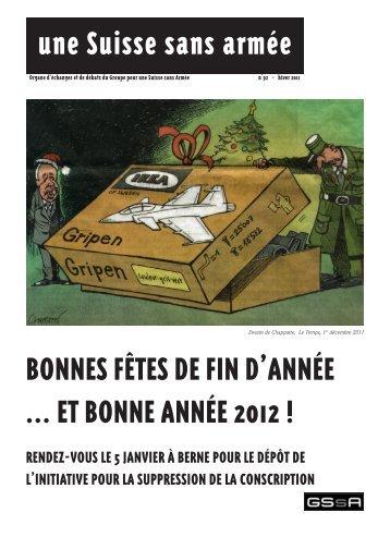 BONNES FÊTES DE FIN D'ANNÉE ... ET BONNE ANNÉE 2012 ...
