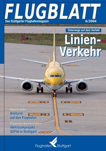 Ausgabe 4/04 - Flughafen Stuttgart