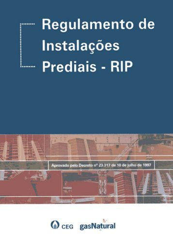 Regulamento de Instalações Prediais - RIP - Gas Natural Fenosa ...