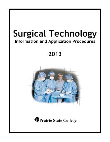 Surgical Technology - Prairie State College