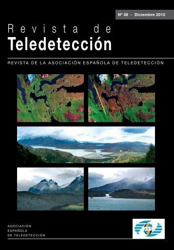 00_cubiertas 38 v1 - Asociación Española de Teledetección