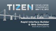 Rapid Interface Builder & Web Simulator