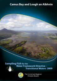 Camus Bay Lough an Aibhnin estuary report 2009 - Inland Fisheries ...
