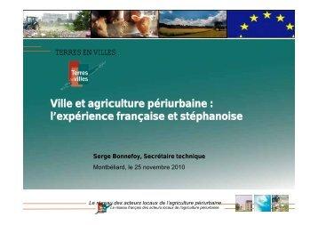 Ville et agriculture périurbaine - ADU