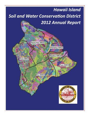 2012 Annual Report - Kona Soil and Water Conservation District