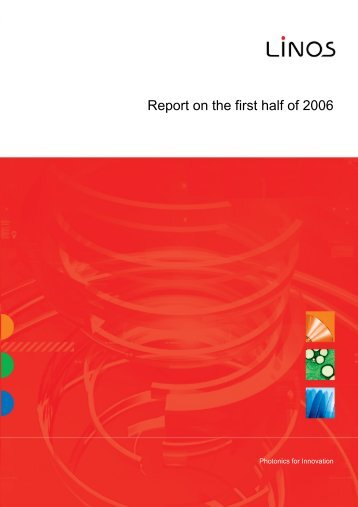 Report on the first half of 2006