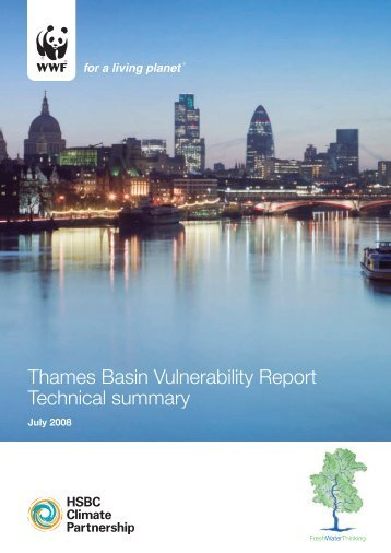 Thames Basin Vulnerability Report Technical summary - WWF UK