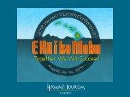 Aloha From Europe… - Hawaii Tourism Authority