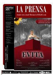 "Programmheft ""EVITA"" - Creative Arts Group eV"