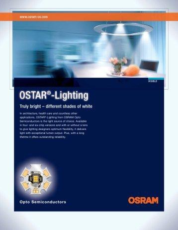 Productflyer OSTAR-Lighting (pdf) - LED Light for you
