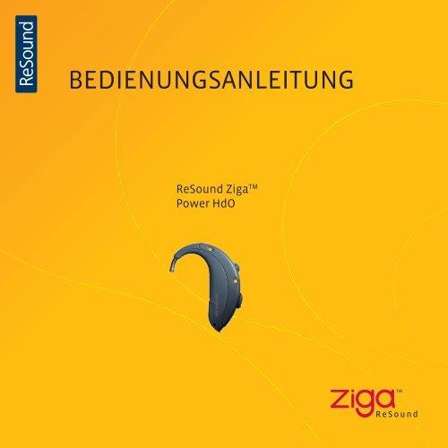 BEDIENUNGSANLEITUNG - GN ReSound GmbH